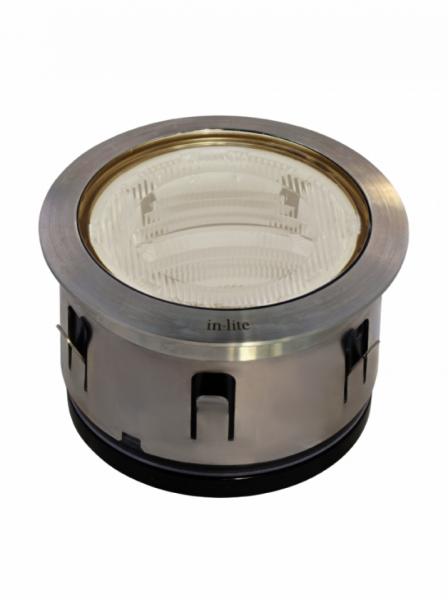 n-lite® BIG FLUX ASYMMETRIC mit Ring 68 Stainless Steel mit cup seitlich